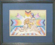 White Shell Woman by Duke Wassaja Sine Arizona, Yavapai, half San Carlos Apache