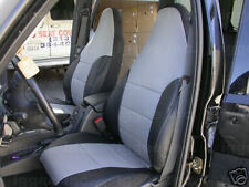 FORD ESCAPE 2001-2004 IGGEE S.LEATHER CUSTOM SEAT COVER 13COLORS AVAILABLE