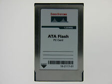 16-2117-01 128MB PCMCIA Flash Card Cisco