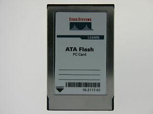 16-2117-01 128MB Pcmcia Flash Tarjeta CISCO
