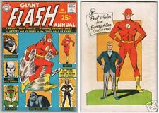 GIANT FLASH ANNUAL NO. 1 1963 SILVER & GOLDEN-AGE FLASH