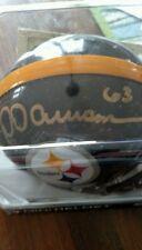 Dermontti dawson Signed in person mini-helmet