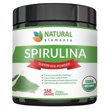 USDA Organic Spirulina Powder Highest Quality Of Blue Green Algae Vegan