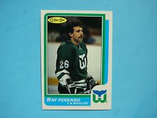 1986/87 O-PEE-CHEE NHL HOCKEY CARD #160 RAY FERRARO ROOKIE NM SHARP+ 86/87 OPC