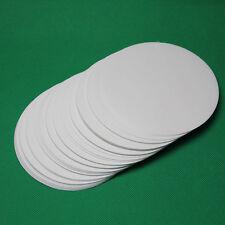 100pcs Round filter paper percolator qualitative grade filter circles 11cm dia