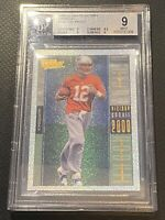 🔥🏈 2000 Ultimate Victory Tom Brady #146 Foil Parallel Rookie RC BGS 9 🐐 🏈🔥
