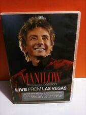 DVD Manilow Music And Passion Live From Las Vegas Mint Condition