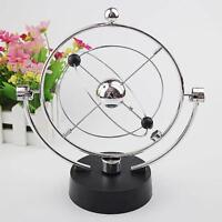 Electric Newton Cradle Steel Balance Ball Physics Science Pendulum Ornament Gift