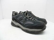 Skechers Men's Work Relaxed Fit Soft Stride Grinnel Comp Toe Work Shoe Navy 10EW
