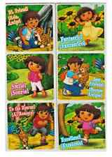 """25 Dora and Diego English Spanish Stickers, 2.5"""" x 2.5"""" each, Party Favors"""