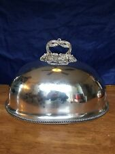 Very Large Victorian Silver Plate Meat Dome - Turkey Cover