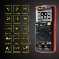 Rms Multimeter True Value Voltage And Current AN8009 Digital High Quality