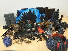 Mega Bloks Piezas hombres armas ladrillos paisaje de dragones Serie