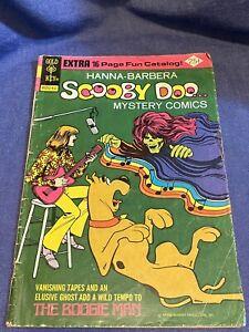 Vintage Hanna Barbera Scooby Doo Mystery Comic Book #29 1974 Boogie Man Hippie
