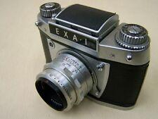 alte EXA 1 Kamera mit Carl Zeiss Jena Objektiv, Tessar 2,8/50
