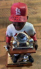 """Ozzie Smith Signed St. Louis Cardinals Forever 10"""" Bobblehead MLB/FANATICS HOLO"""