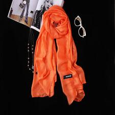 Fashion Women Lady Silk  light Scarf Wraps Shawl Sunscreen Scarfves Bandana New