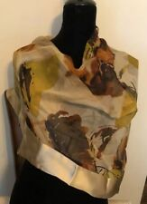 Women's Large Square SHAWL or SCARF