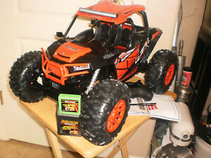 Toys Gifts New Bright RC 1.15 NWOB Polaris RZR ATV Remote Control Tested Ready