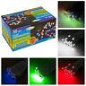 50 LED Giardino Festa Stringa Solare Funzionamento Luminoso Esterno Fairy Luci