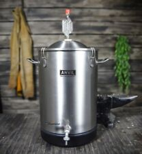 Anvil Brewing Stainless Bucket Fermentor 7.5 Gallon Conical Bottom Fermenter
