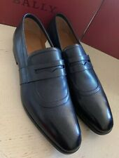abb3a415515 New  640 Bally Men Lahney Leather Loafers Shoes Black 12 US Switzerland