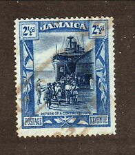 Jamaica--#92 Used--Return of World War I Troops--1921