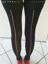 BAS-UP CHANTAL THOMASS TAILLE 3 BAGUETTE ARRIERE 67 DEN OPAQUE COULEUR NOIR