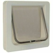 Ideal Pet Products 4 Way Locking Cat Flap SPF