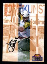 59892 Jan Benzin Kanu Slalom original signierte Autogrammkarte