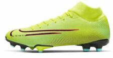 NIKE Mercurial Superfly Acad FG Football Boots Mens Yellow Size UK 10 *REFCRS81