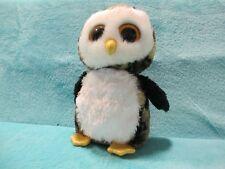 6b5c225ef75 2014 LARGE Ty Beanie Boos Buddy - Owliver The Gold Glitter Owl Soft Plush  Toy 9