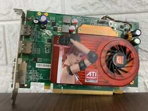 ATI RADEON HD3650 256MB 128-bit PCIe Video Graphics card DP DVI HDMI WORKING EXC