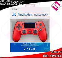 MANDO PS4 DUALSHOCK COLOR ROJO MAGMA ORIGINAL PLAYSTATION 4 SONY 100% PRECINTADO
