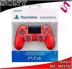 MANDO PS4 DUALSHOCK COLOR ROJO MAGMA ORIGINAL PLAYSTATION 4 SONY RED MAGMA
