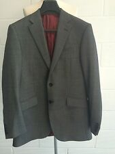 "Men's M&S Sartorial TIMOTHY EVEREST 100%wool ALFRED BROWN blazer jacket 38""Long"