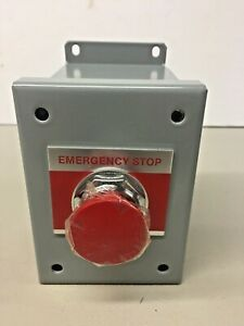 General Electric CR104PEG11S 1 hole Emergency Stop Series A