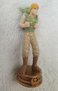 Luke + Yoda, Knight piece, Rebel Alliance STAR WARS 3D CHESS SET Spares SCHACH