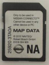 Nissan SD Map CARD OEM NAVTEQ 25920 3TA0A