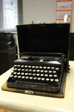 Schreibmaschine Erika, Modell S + Koffer, Typewriter, Seidel & Naumann Dresden