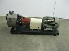 "2"" x 1-1/2"" Durco Duriron Mark II Process Pump D4 SS 15 HP Motor NEW Z4 (2075)"