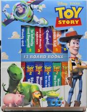 Disney Pixar Toy Story PreK Chunky BoardBook Collection Speech Therapy Activity