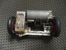 Distler Porsche, Hinterachse mit Getriebe + Motor, funktioniert