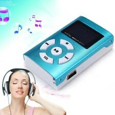 Mini USB Charging MP3 Player Sport LCD Screen Support 32GB Micro SD TF Card B FT
