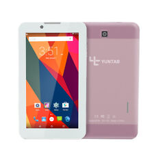 "7"" Unlocked Android 6.0 3G Phone Tablet Phablet GSM Dual Camera Rose Gold"