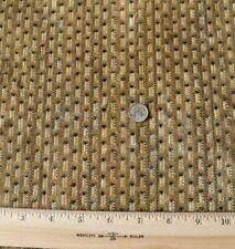 Antique 17thC (c1670-90) Cut Silk Velvet Fabric~Tan,Cream~Museum Deaccession