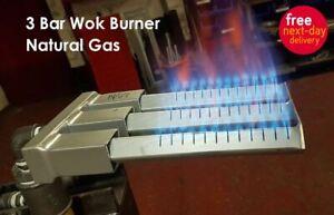 2 Bar & 3 Bar Chinese Wok Cooker Burner Commercial Range Natural Gas Heavy