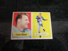 1957 TOPPS FOOTBALL  CARD HOF of #88 FRANK GIFFORD- NICE SHAPE