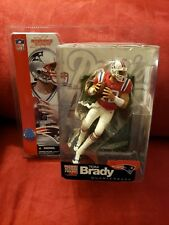 CUSTOM Tom Brady Mcfarlane Series 5 AFL Throwback Rookie Figure RC Patriots