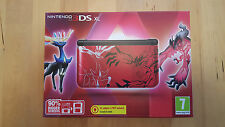 Console Nintendo 3 DS XL Pokemon XY rouge édition limitée U.K. PAL NEW & SEALED